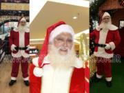 Chegada de Papai Noel com Balão *