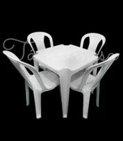 Aluguel Mesa e Cadeira de Plástico na Zona Sul, Zona Oeste - SP