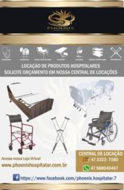Locação de Equipamento Hospitalar em Blumenau - SC