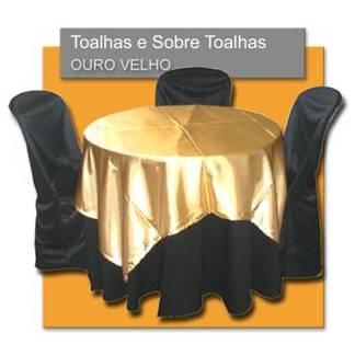 Aluguel de toalhas - Locação de Materias para Festas