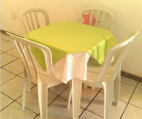 Aluguel de Mesas e Cadeiras Quadradas em São Miguel Paulista