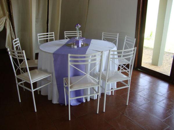 Aluguel Mesa e Cadeira de Ferro em Campinas - SP