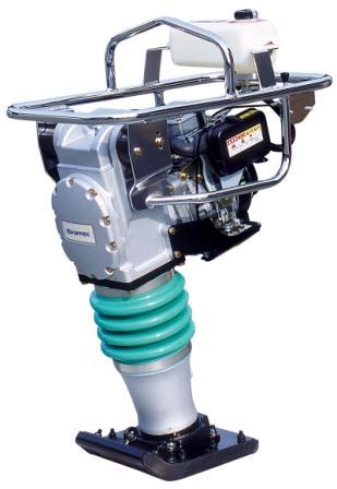 Aluguel de Compactador a Gasolina - Loc Lav