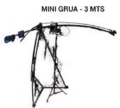 13 Locações - Aluguel de MINI GRUA 3 MTS