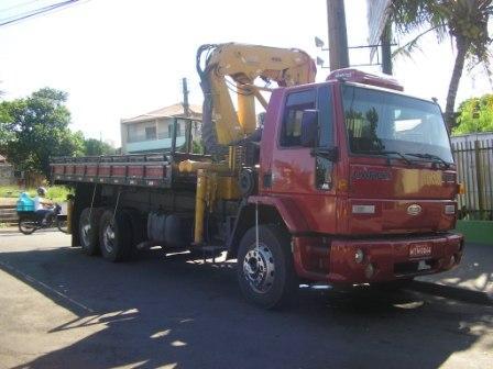 Aluguel de caminhão munck em Palmas
