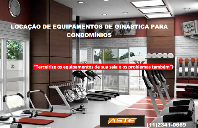 Locação de Equipamentos de Ginástica para Condomínios em São Paulo