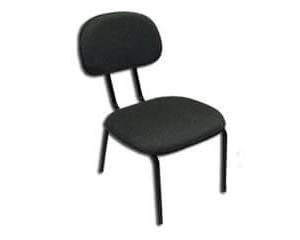 Cadeira Secretária Estofada Pé Palito na Lapa
