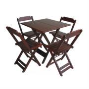Aluguel de Mesas e Cadeiras de Madeira em Feira de Santana - BA