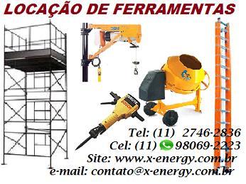 X-ENERGY LOCAÇÃO DE FERRAMENTAS