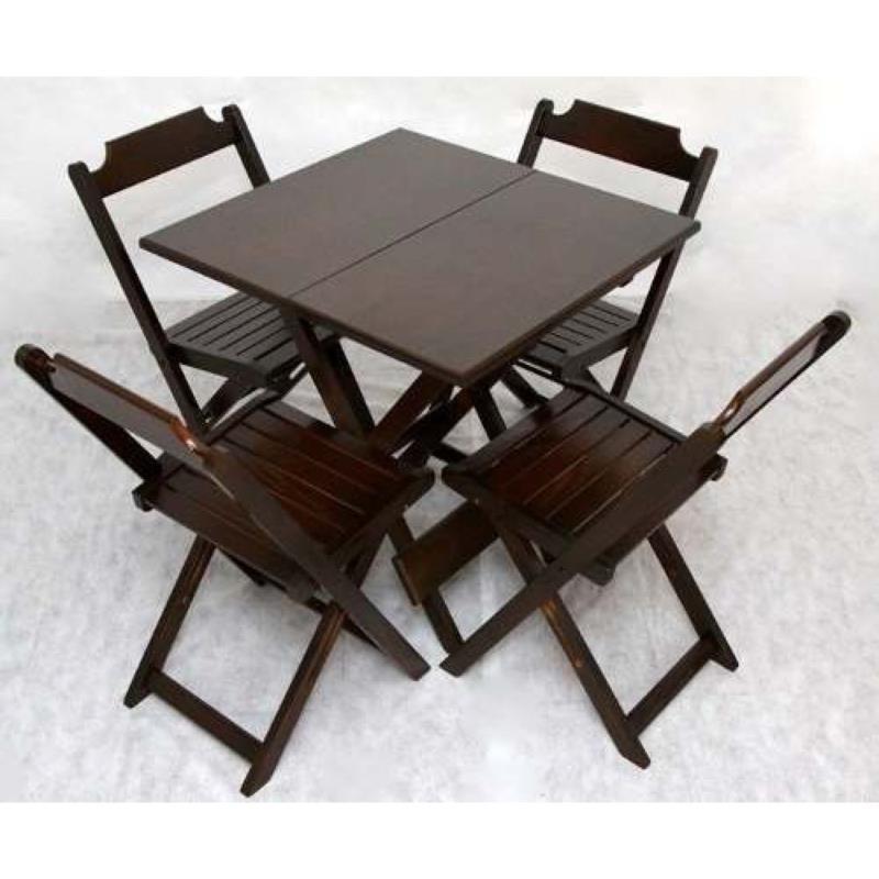 <Aluguel de Mesa e Cadeiras de Madeira na Freguesia do O, Santana, Bairro do Limão*
