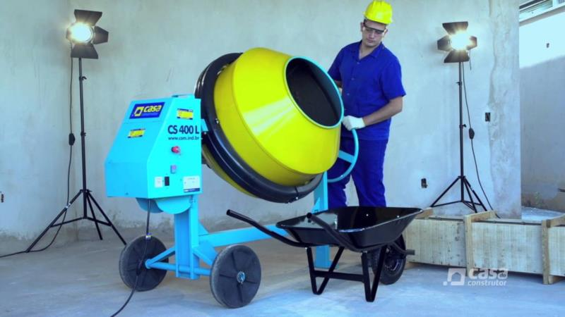 <Aluguel de Betoneira 400 litros em Arapiraca - AL