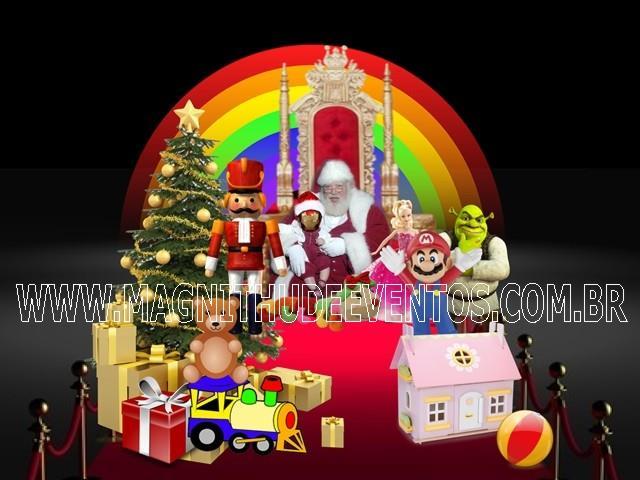 <Cantinho do Papai Noel