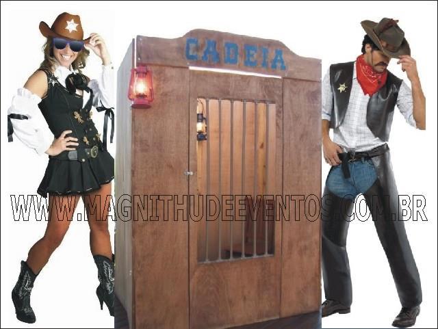 Cadeia para Festa Junina Country