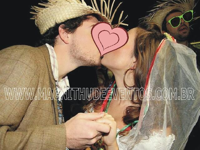 Casamento caipira para festa junina