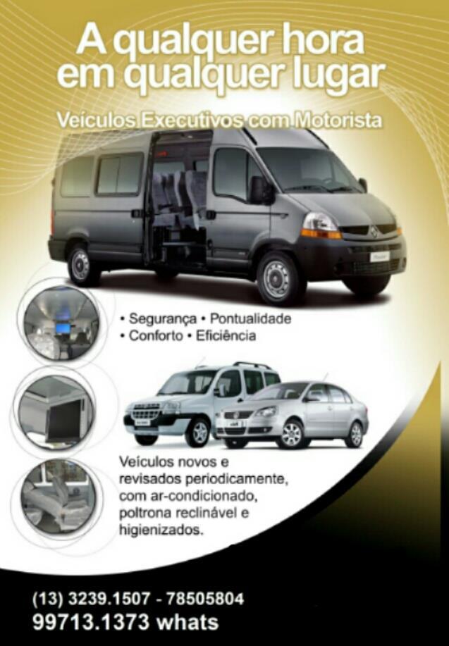 <Locação de Van em Santos