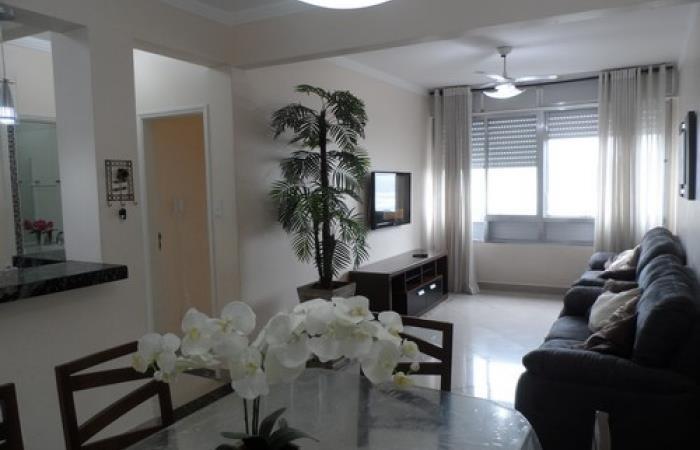 <Apartamento de Frente ao Mar em São Vicente