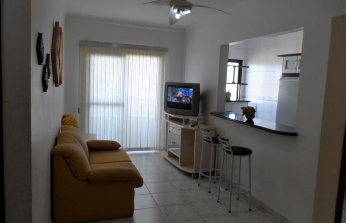<Aluguel Apartamento na Vila Tupi Praia Grande