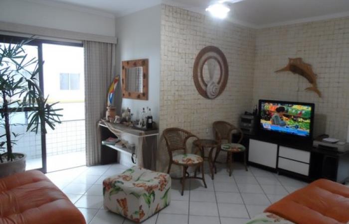 <Aluguel de Apartamento no Mirim Praia Grande