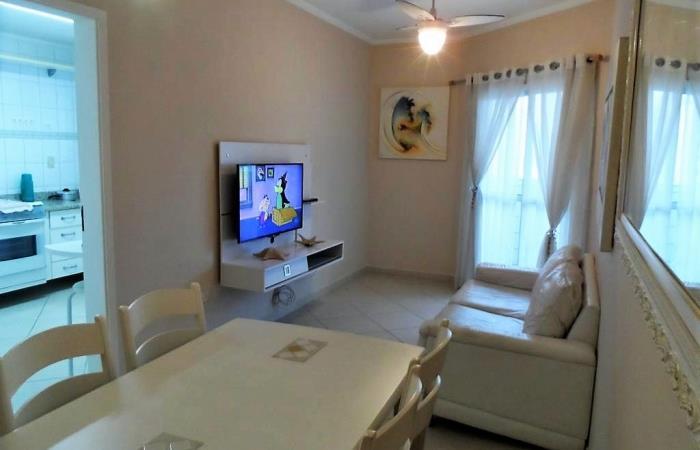 <Apartamento de Temporada na Praia Grande SP