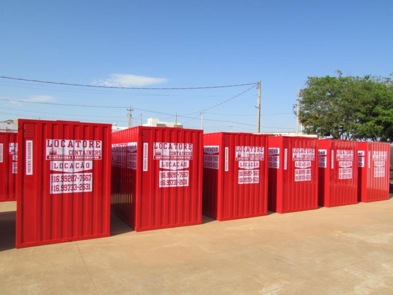 Container em Ribeirão Preto SP