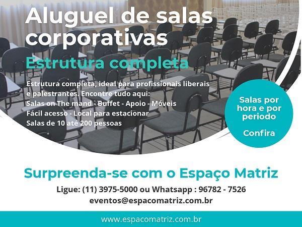 <Espaço para Eventos Corporativos na Zona Norte SP