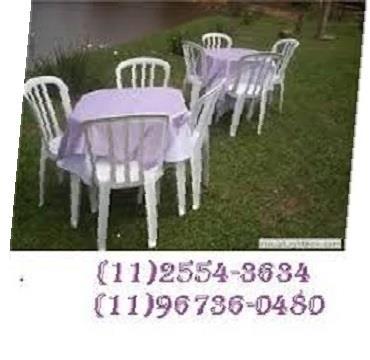 Mesas e Cadeiras em Guaianases e Itaquera