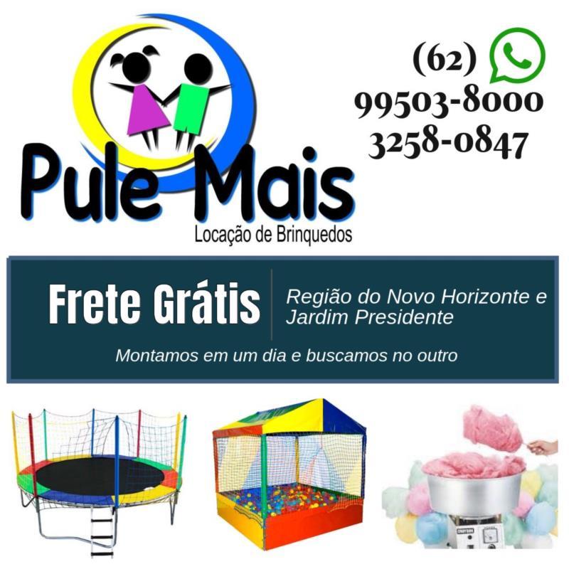 Aluguel de Brinquedos em Novo Horizonte, Jardim Presidente - GO