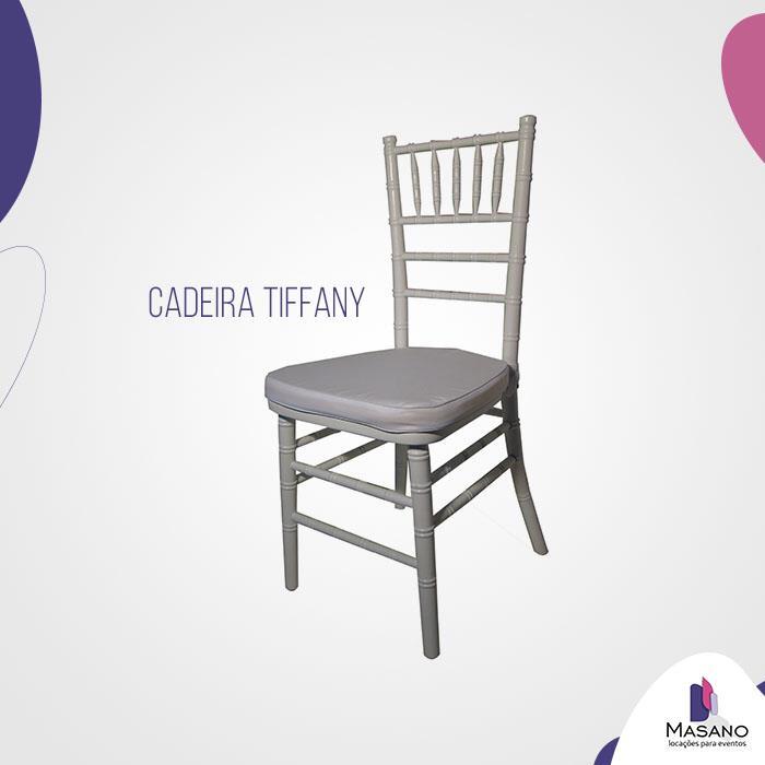<Aluguel Cadeira Tiffany em Santos, São Vicente, Cubatão - SP