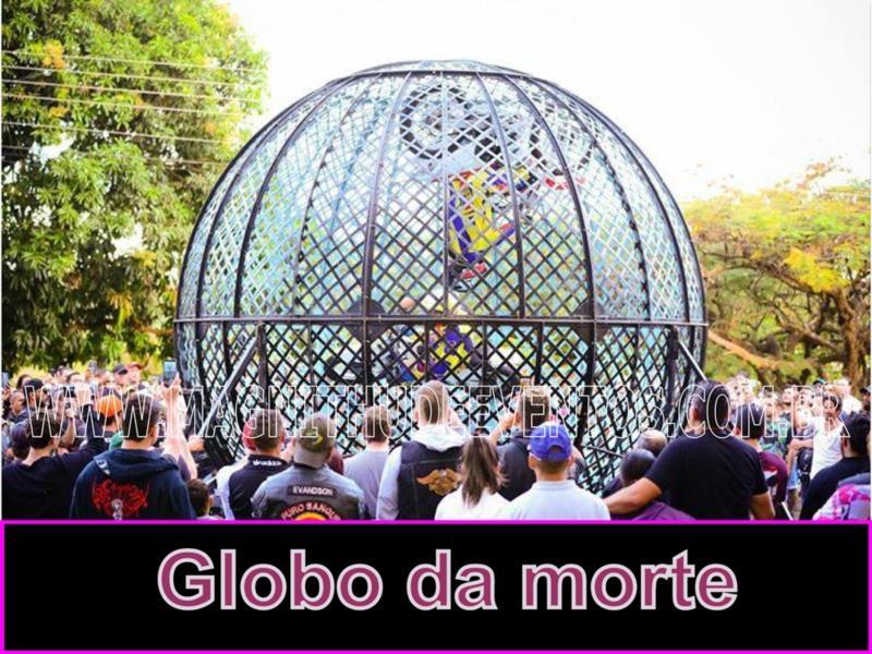<Aluguel Globo da Morte para Eventos