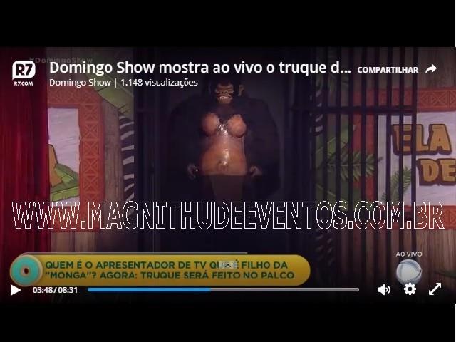 <Aluguel Monga, Mulher Gorila para Shows e Eventos