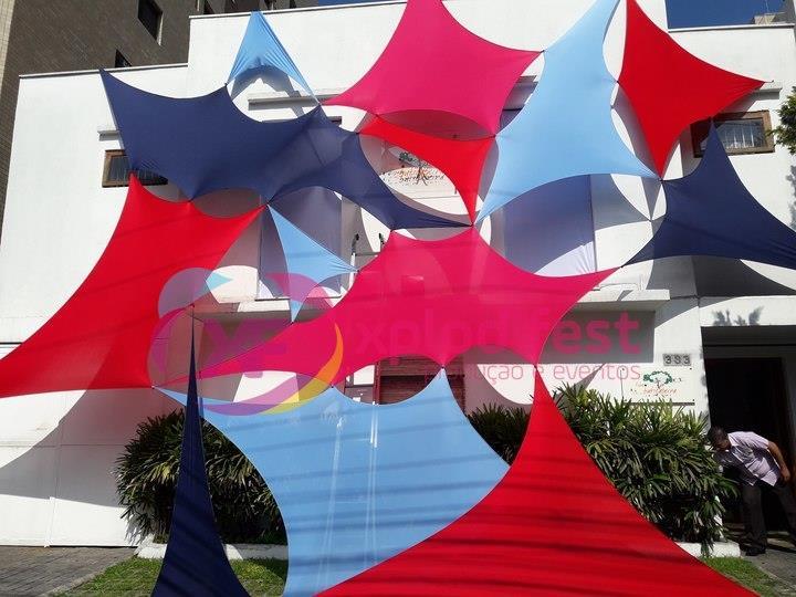 <Aluguel Decoração com Lycra Tensionada na Penha, Vila Esperança - SP