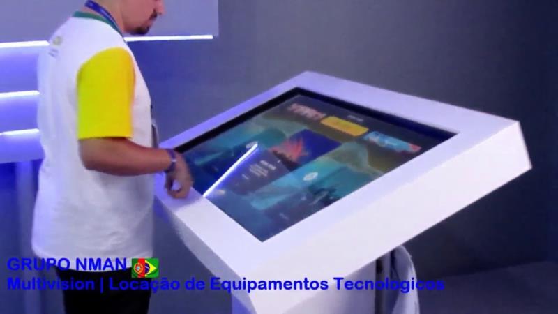 <Aluguel de Tela Touch 55