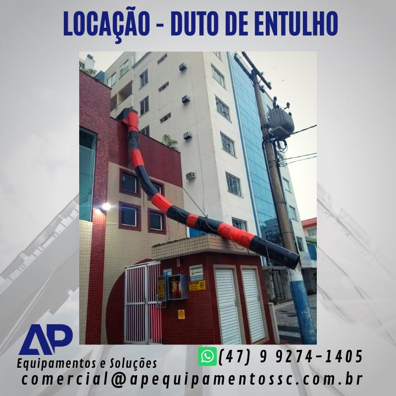 <Aluguel Duto de Entulho - SC