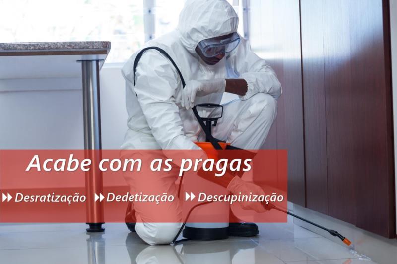 <Dedetização em São Paulo - SP
