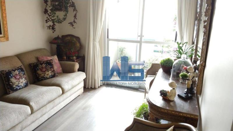 <Apartamento com 2 dormitórios à venda, 60 m² por R$ 550.000 - Saúde