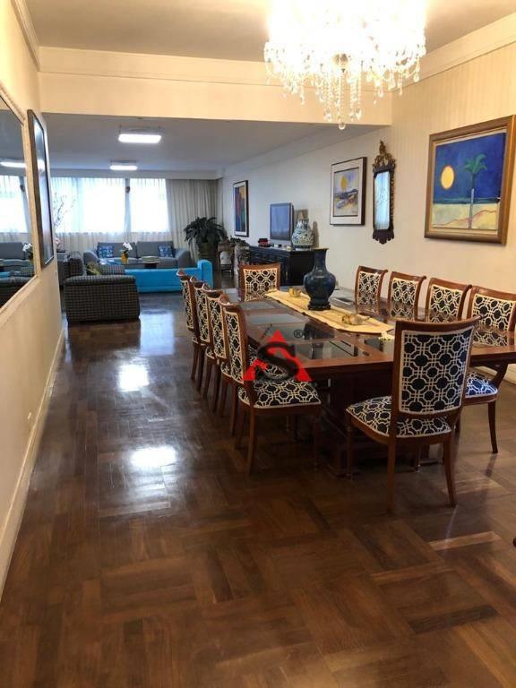 <Apartamento Triplex com 4 dormitórios à venda, 382 m² por R$ 2.250.000,00 - Cerqueira César - São Paulo/SP