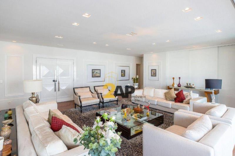 <Apartamento à venda, 385 m² por R$ 6.600.000,00 - Campo Belo - São Paulo/SP