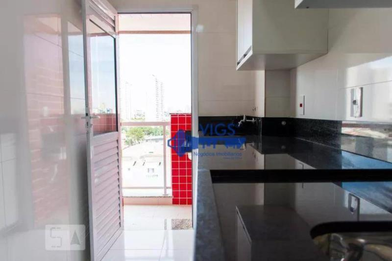 <Apartamento com 2 dormitórios para alugar, 57 m² por R$ 1.550/mês - Vila Curuçá - Santo André/SP