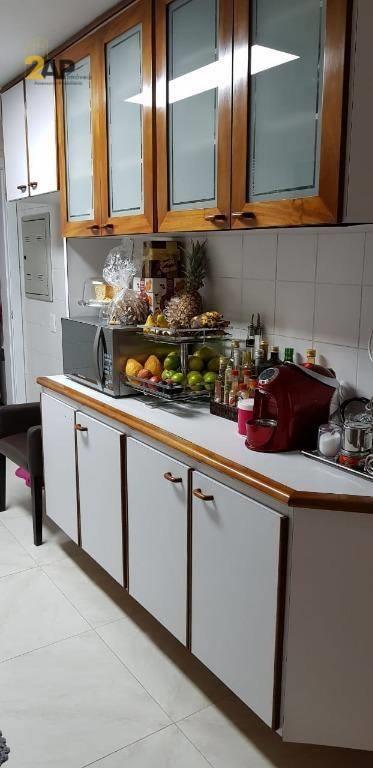 <Apartamento com 3 dormitórios, 136 m² - venda por R$ 689.000,00 ou aluguel por R$ 3.500,00/mês - Portal do Morumbi - São Paulo/SP