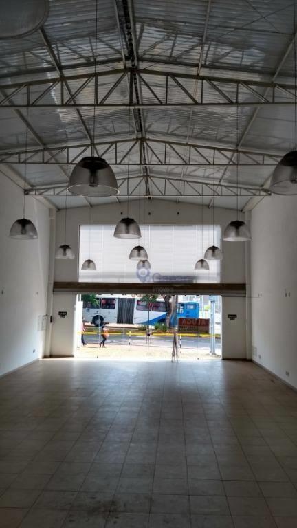 <SALÃO COMERCIAL 500 M² CONSTRUÇÃO PARA LOCAÇÃO NO BAIRRO CHAPADÃO/CASTELO EM CAMPINAS ZONEAMENTO ZC2.