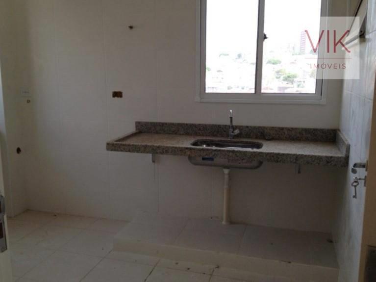<Apartamento com 3 dormitórios à venda, 130 m² por R$ 600.000 - Parque Brasília - Campinas/SP