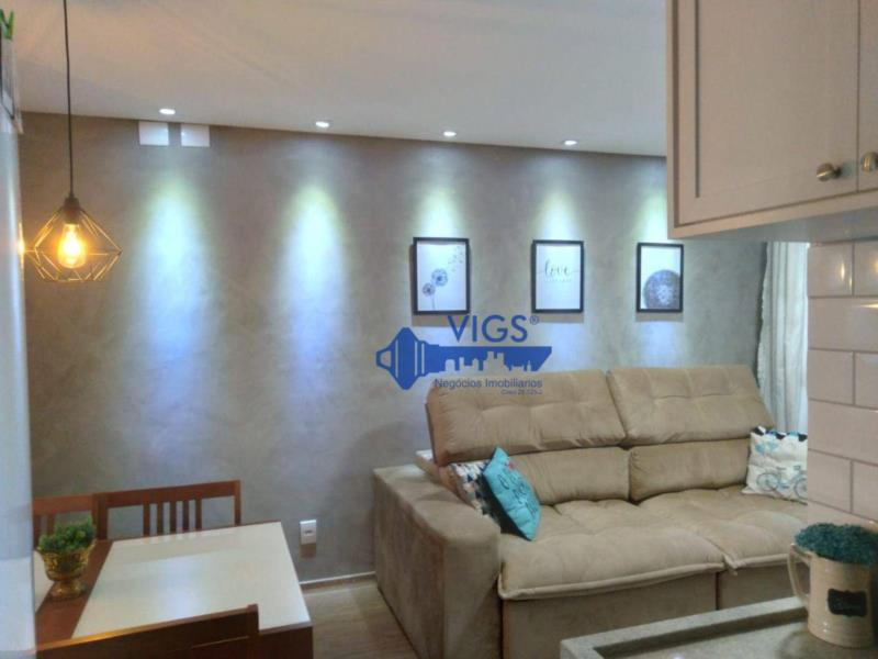 <Apartamento com 2 dormitórios à venda, 60 m² por R$ 340.000 - Santa Maria - Santo André/SP