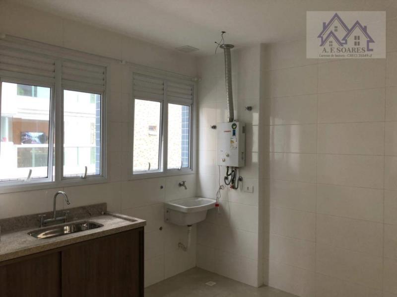 <Apartamento com 1 dormitório para alugar, 44 m² por R$ 2.300,00/mês - Ponta da Praia - Santos/SP