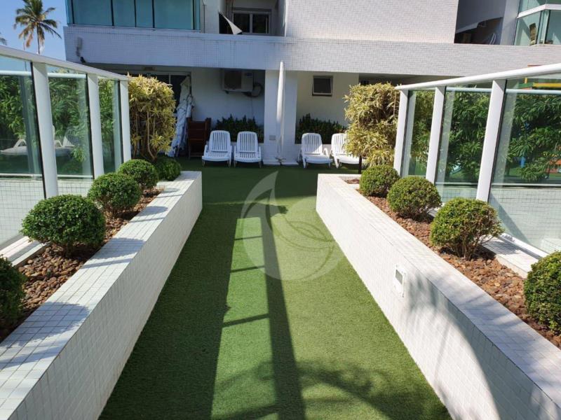 <Apartamento com 4 dormitórios à venda, 206 m² por R$ 3.000.000,00 - Praia da Enseada - Frente Mar - Guarujá/SP