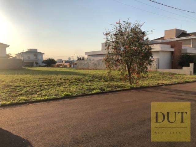 <Terreno à venda, 420 m² por - Terras do Cancioneiro - Paulínia/SP