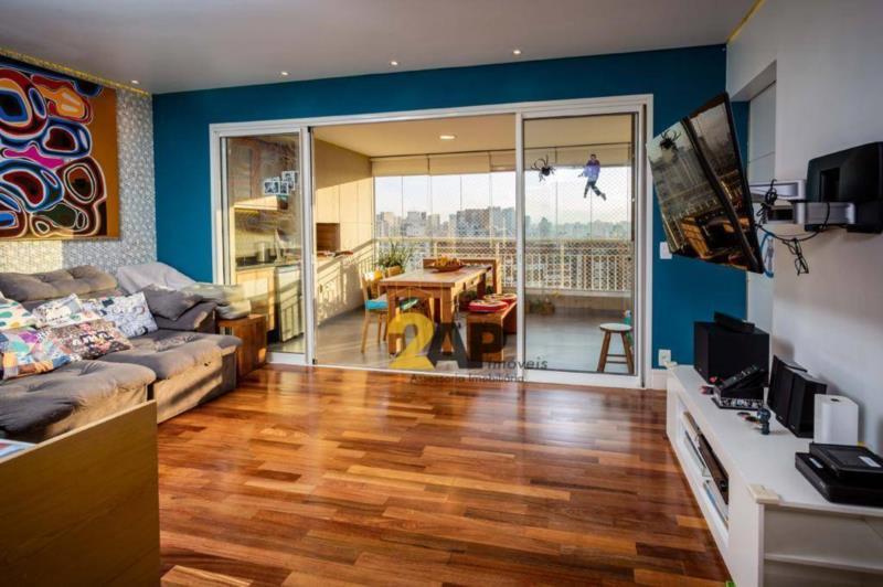 <Apartamento com 3 dormitórios à venda, 103 m² - Granja Julieta - São Paulo/SP