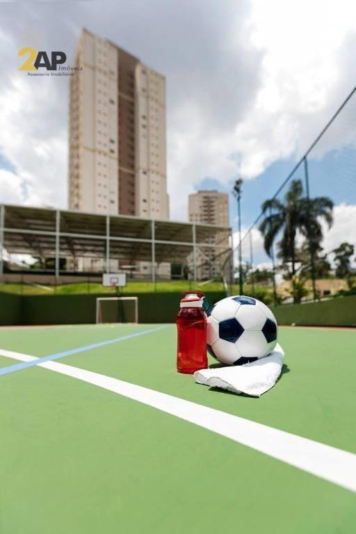 <Apt com 2 dormitórios à venda, 77 m² por R$ 424.000 - Butantã - São Paulo/SP