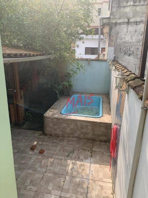 <Sobrado geminado com 1 vaga de garagem, quintal, piscina, churrasqueira e forno de pizza!!
