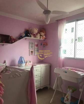 <Apartamento com 2 dormitórios à venda, 47 m² por R$ 225.000 - Gleba Fazenda Palhano - Londrina/PR