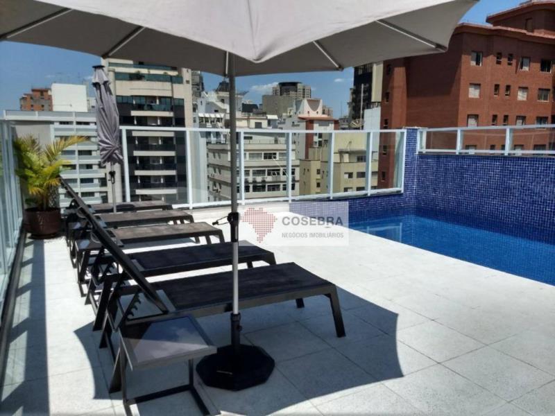 <Apartamento para alugar, 100 m² por R$ 4.000,00/mês - Itaim Bibi - São Paulo/SP